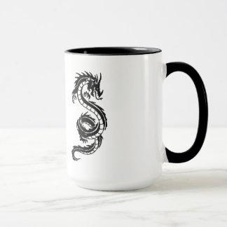 Mug Il effiloche dragón.