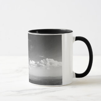 Mug Il effiloche du paysage blanc et noir