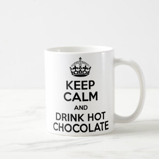 Mug Il effiloche Keep Calm Hot Chocolat
