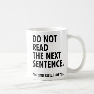 Mug Il effiloche Little Rebel