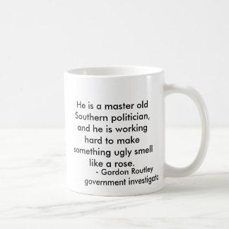 Mug Il est un vieux politicien du sud principal, et