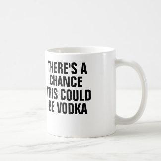 Mug Il y a une occasion que ceci pourrait être vodka