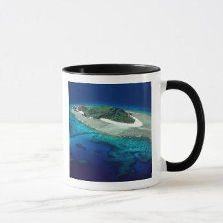 Mug Île d'Eori, îles de Mamanuca, Fidji - antenne