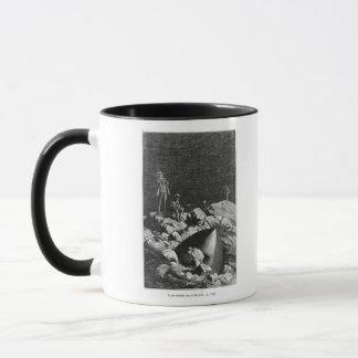 Mug Illustration de 'de la terre au Moon