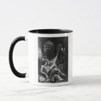 Mug Illustration de 'Frankenstein