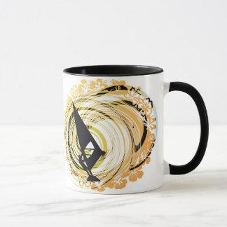 Mug Illustration de planche à voile