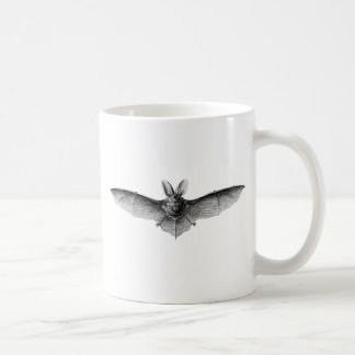 Mug Illustration vintage de batte