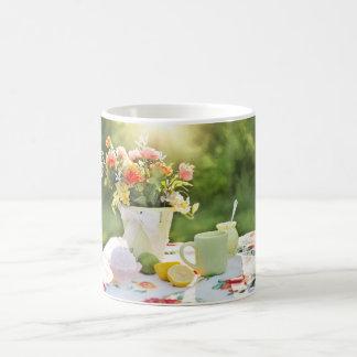 Mug image mignonne de nature avec des fleurs