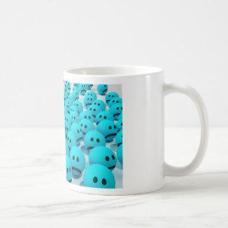 Mug Image souriante d'amusement de visage