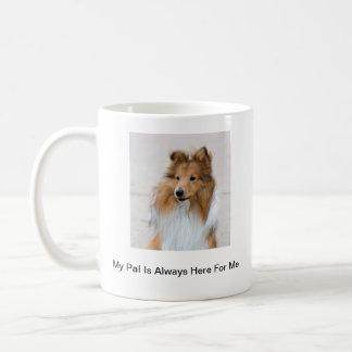 Mug Images de chien de berger de Shetland