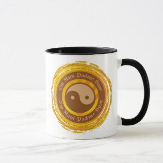 Mug Incantation tibétaine Yin Yang