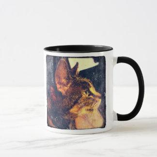 Mug Indigo vintage sale de profil