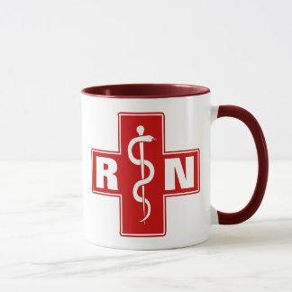 Mug Infirmière RN ou initiales