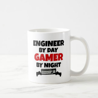 Mug Ingénieur par le Gamer de jour par nuit