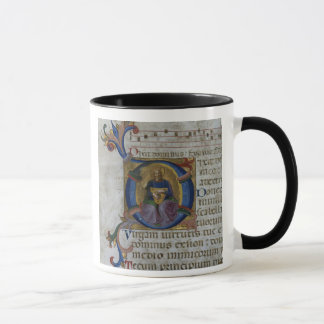 "Mug Initiale ""D"" de Mme 531 f.169v Historiated"