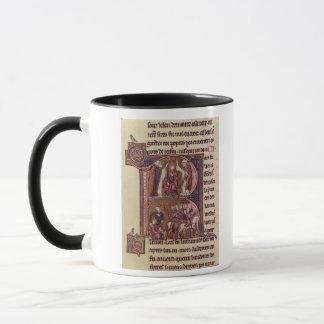 Mug Initiale 'R de Historiated