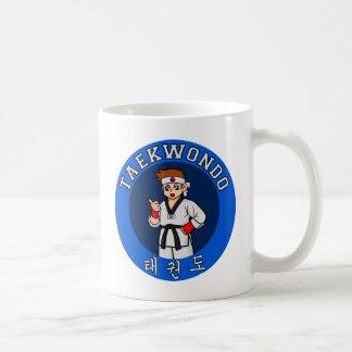 Mug insigne de type du Taekwondo