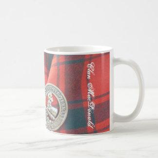 Mug Insigne et tartan de MacDonald de clan