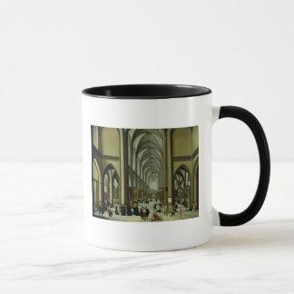 Mug Intérieur de cathédrale d'Anvers