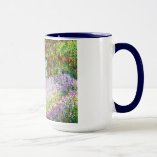 Mug Iris dans le jardin Claude Monet de Monet
