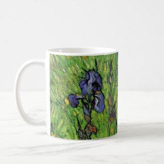 Mug Iris par Vincent van Gogh, beaux-arts vintages de