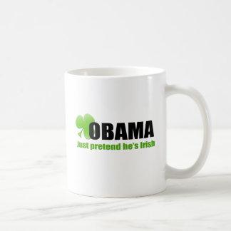 Mug Irlandais Obama