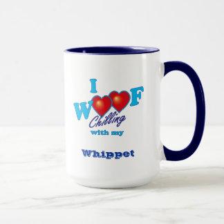 Mug J'aboie le whippet