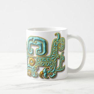 Mug Jaguar-Turquoise maya