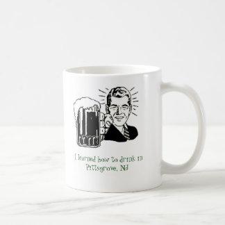Mug J'ai appris comment boire dans Pittsgrove, NJ…