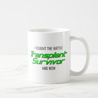 Mug J'ai combattu la bataille et ai gagné.  Survivant