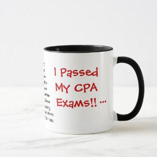 Mug J'ai passé mes examens de CPA ! - le triple a