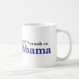 Mug J'ai un écrasement sur Obama
