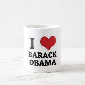 Mug J'aime Barack Obama