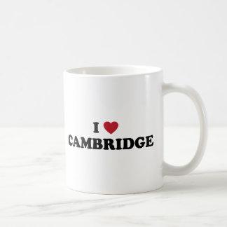 Mug J'aime Cambridge le Massachusetts