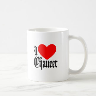 Mug J'aime Chaucer