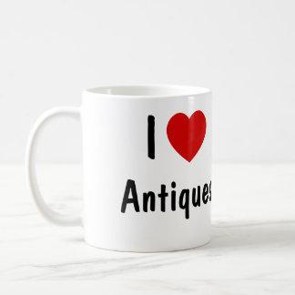 Mug J'aime des antiquités