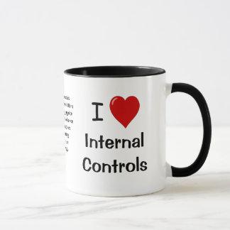 Mug J'aime des contrôles internes - le triple a