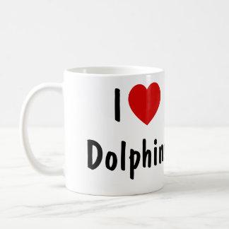 Mug J'aime des dauphins