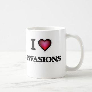 Mug J'aime des invasions