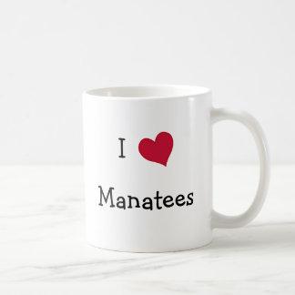 Mug J'aime des lamantins