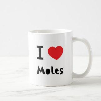 Mug J'aime des taupes