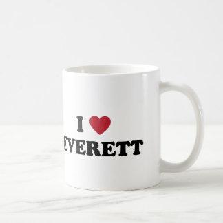Mug J'aime Everett Washington