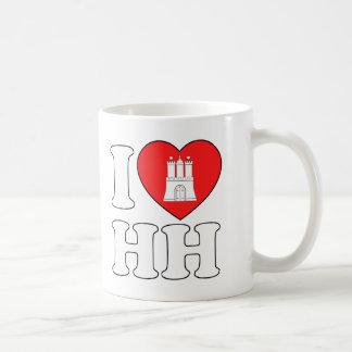 Mug J'aime Hambourg (HH)