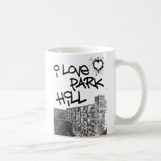 Mug J'aime la colline de parc