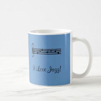 Mug J'aime la musique de jazz