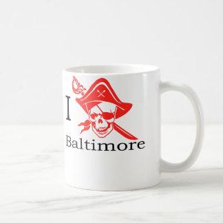 Mug J'aime le pirate de Baltimore