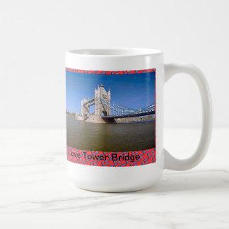 Mug J'aime le pont de tour