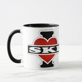 Mug J'aime le ski