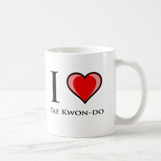 Mug J'aime le Taekwondo