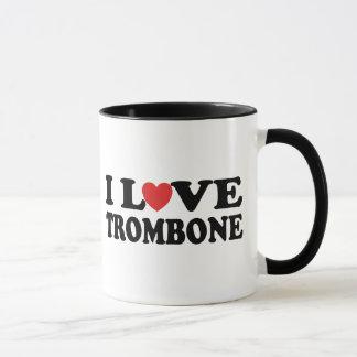 Mug J'aime le trombone